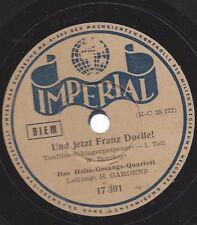 Helia Gesangs Quartett mit Helmut Gardens Orchester : Und jetzt Franz Doelle