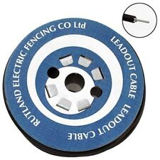 LEAD OUT CABLE 50M - Rutland Electric Fencing Fence Mains Horse