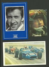 Jackie Stewart F1 Grand Prix Car Racing Driver - Fab Card Collection A