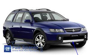 NOS VZ Holden Adventra AWD Wagon Crew Cab Front Bumper Aluminium Skid Bash Plate