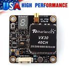 5.8G 40CH VX30 Transmitter 25/200/600/800mW Switchable f/Racing Quadcopter Drone