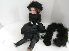 Vintage Doll 26 Inch Bisque Porcelain Leather Body Am Armand Marseille 3200