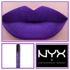 NYX Liquid Suede Cream Purple-Violet MATTE Lipstick 100% AUTHENTIC #AMETHYST 10