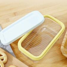 2 in1 Butter Dish Butter Serving Tray with Lid Container Box QUALITY HIGH M3H8