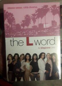 THE L WORD STAGIONE 1  BOX 4 dvd Edizione ITALIANA sigillato