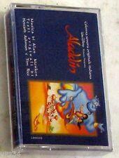 Colonna Sonora Aladdin MC Cassette K7 Walt Disney Italy SIGILLATA