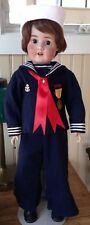 Vintage US NAVY SAILOR Outfit for Vintage, Antique,or Character Doll, Wonderful!