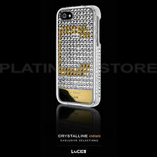New iPhone SE 5/5S Made with Swarovski Crystals Bling Case Lucien Elements Cover