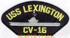 USS LEXINGTON CV16 CVA CVS PATCH NAS PENSACOLA CORPUS