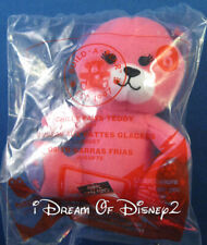 Build-A-Bear PINK CHILLY PAWS TEDDY McDonald's Happy Meal Toy STOCKING STUFFER