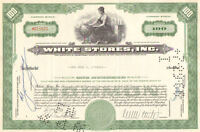 White Stores, Inc. > 1966 stock certificate
