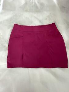 Antigua Desert Dry Magenta Pink Active/Golf Sports Skirt/Skort Sz 16 NWOT