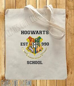 HOGWARTS HARRY POTTER TOTE/SHOPPING BAGS