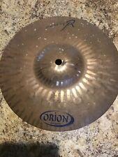 "Extremely Rare Orion Viziuss 10"" Splash Cymbal"