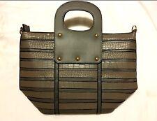 Womens Handbag tote Purse 15x15x6 Beautiful Gray color