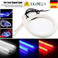 60CM Auto LED DRL Tagfahrlicht Soft Tube Streifen Lampe Scheinwerfer Nebelleucht