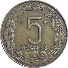 French Equatorial Africa Cameroon Cameroun 5 Francs 1958 KM#10 (C-15)