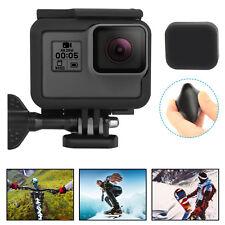 Frame Mount For GoPro HERO 5/6 Black Housing Protective Cover Case Lens Cap