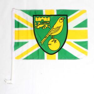 OFFICIAL NORWICH CITY FC CAR FLAG