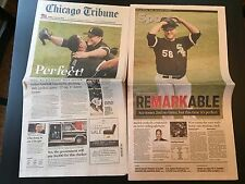Mark Buehrle & Phillip Humber Chicago White Sox PERFECT GAME Newspapers! Wow!