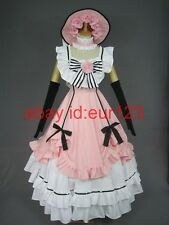 Black Butler Kuroshitsuji Ciel Cosplay Costume Any Size