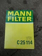 BMW Air Filter C25114 Mann Quality New