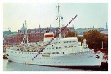ap532 - Russian Liner - Estonia , built 1960 - photo 6x4