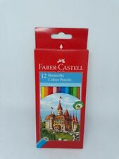 Faber-Castell Buntstifte, 12er-Etui Malstifte, eco, Burgmotiv, 111212