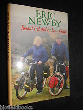 SIGNED; ERIC NEWBY - Round Ireland in Low Gear (Hardback, 1987-1st) Irish Travel