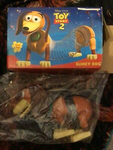 Slinky Dog Toy Story 2 Boxed RARE RETRO VINTAGE PULL Along TOY IN BOX Disney
