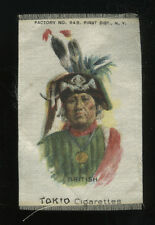 Tokio Cigarettes Advertising Silk Premium Ioway Iowa Native American, British