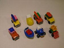 Lot de 8 jouets véhicules voitures NESQUIK Groquik cadeaux publicitaire