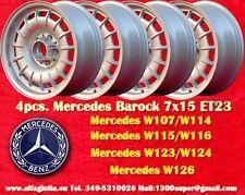 4 roues Mercedes Fuchs Baroque Gâteau 7x15 ET23 4 Felgen 4 Roues avec TUV
