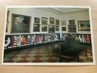 NATIONAL MUSEUM OF RACING VIEW OF THE EAST GALLERY SARATOGA POSTCARD VINTAGE
