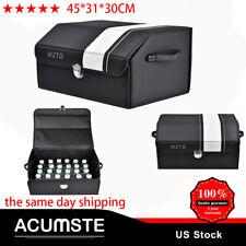 Universal Auto Storage Box Leather Organizer Pouch Bag Car Travel Accessory HOT