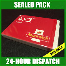 100 x 1st Class LARGE Stamps 2018 SEALED PACK Royal Mail Postage B/N First CHEAP