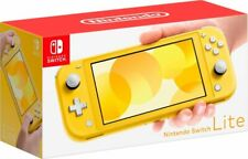 NEW 🔥 Nintendo Switch Lite Handheld Console - Yellow 🔥 Mario+Rabbids Bundle 🔥