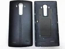 Leather Battery Back Door Housing Cover Case w/ NFC for LG G4 US991 F500 Black