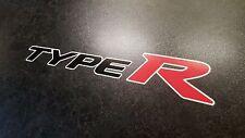 X2 Honda Civic Tipo R Premium Lato Adesivo Decalcomanie