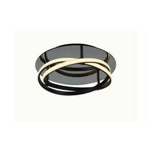 Ceiling From Ceiling To LED Design Modern Aluminum And Acrylic Brown,