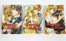 Stepping On Roses Manga Lot of 3 Paperback Book 1 2 3 English Rinko Ueda Mint