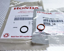 OEM HONDA Power Steering Pump Inlet & Outlet Line Rubber ORing Gasket Seals