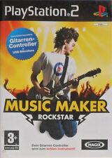 PS2 Game - MAGIX! MUSIC MAKER ROCKSTAR - gebraucht