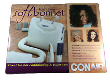 "Soft Bonnet Hair Dryer Hooded Conair Styling Cap Hood Vent Brush "" Read"""