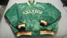 MAJESTIC HARDWOOD CLASSIC THROWBACK BOSTON CELTICS JACKET  MENS SIZE 3XL