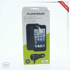 PureGear iPhone 5 5S Bundle W/ Car Charger & Combo Holster Case & Screen Protec