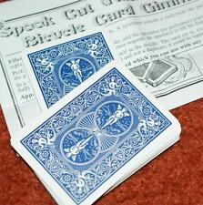 Spook Cut -- self contained gimmick to haunt any Bicycle RED deck         TMGS
