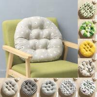 Chair Pad Round Mat Patio Seat Pillow Cushion Home Sofa Office Cattail Soft