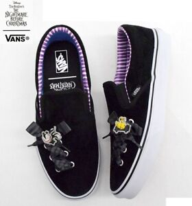 Vans Nightmare Before Christmas Classic Slip-On Haunted Toy unisex shoe sneaker