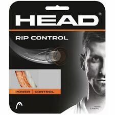 HEAD RIP CONTROL TENNIS STRING - 1.25MM 17G - ONE 12M SET - ORANGE - RRP £15